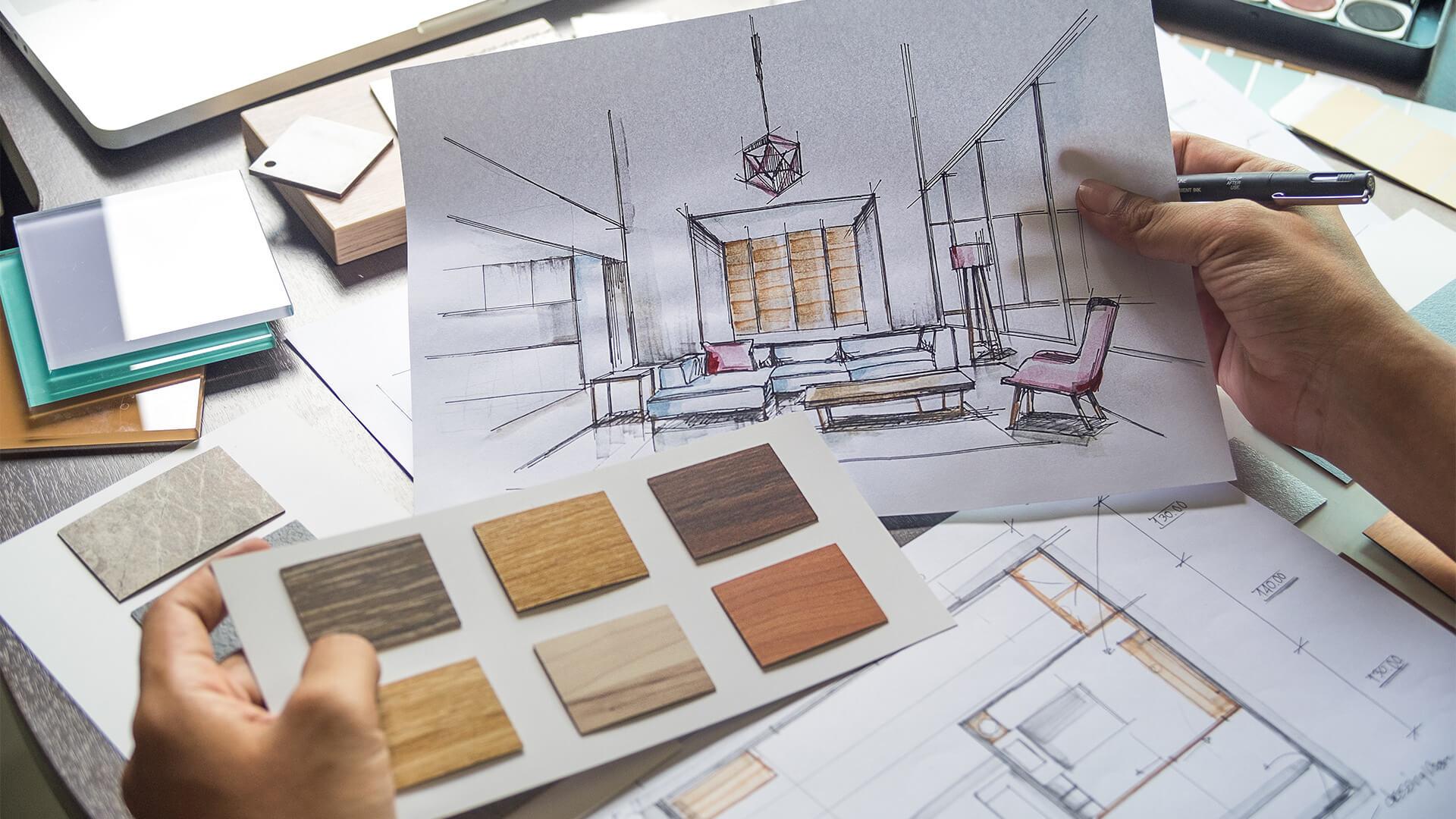 Курсы по дизайну интерьера с нуля